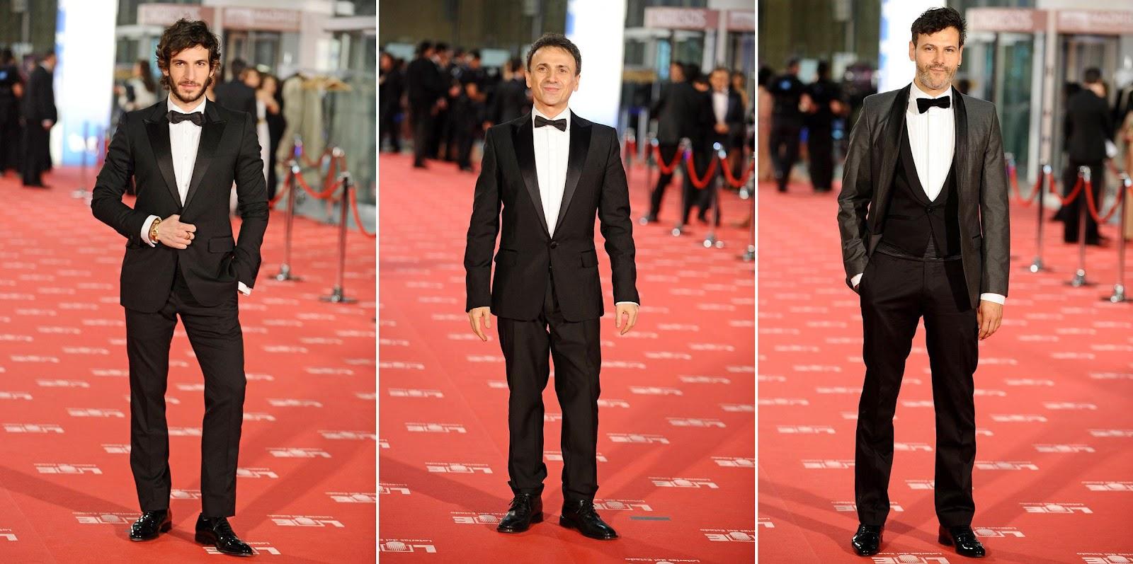 Premios+Goya+2012+looks+masculinos+Quim+Gutierrez+Jose+Mota+Roberto+Enriquez