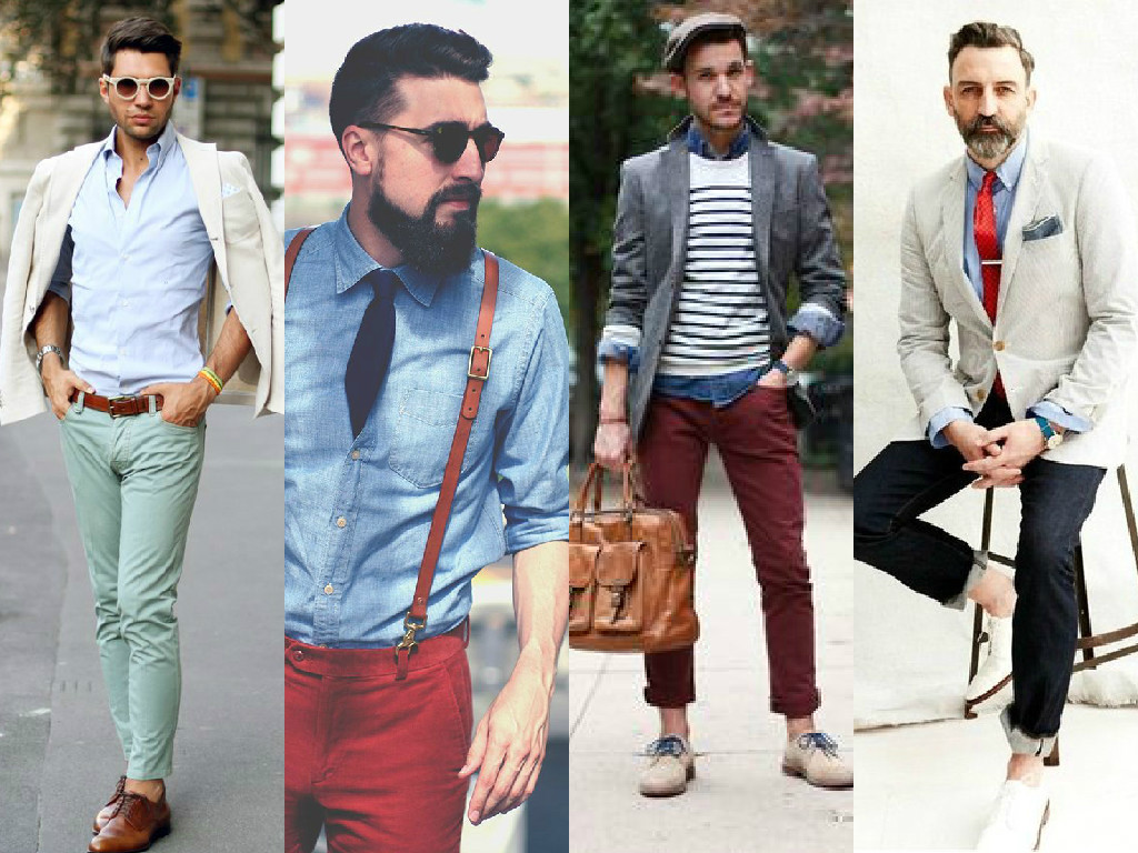 Ideas para combinar la camisa celeste blogs gesti n for Q color combina con el gris