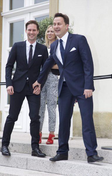 Mariage Xavier Bettel avec Gauthier Desteray