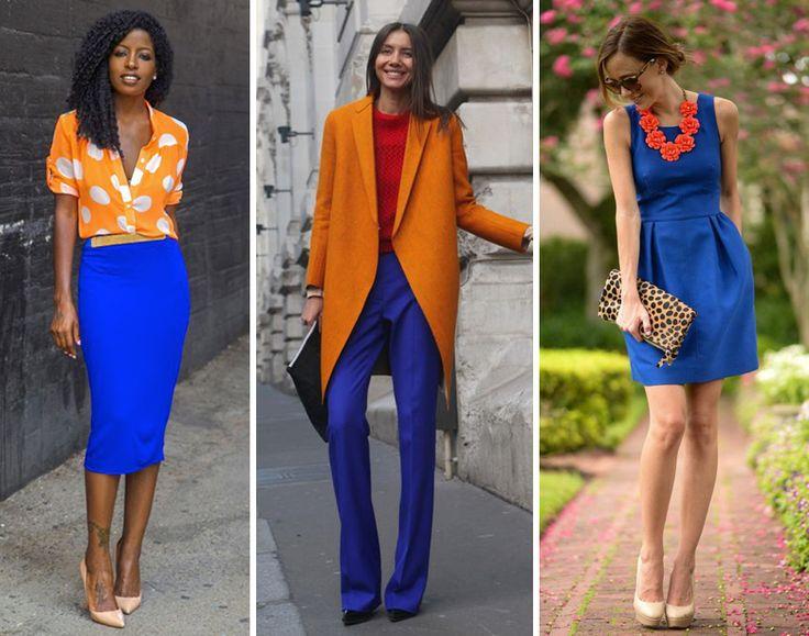 ¿Cómo combino colores complementarios?