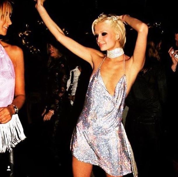 og8iw2-l-610x610-dress-paris+hilton-shimmer-sparkle-sparkly+dress-spaghetti+strap-open-open+dresses-backless-backless+dress-2000+fashions-clubwear-club+dress