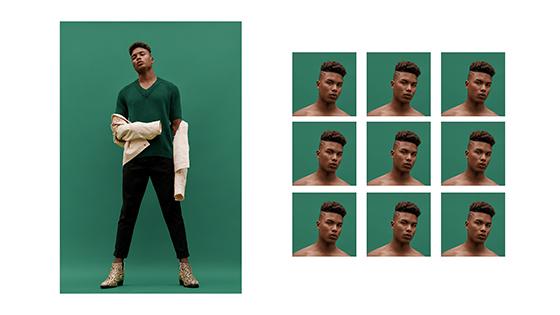 1.- Luis Carlos Leiva - Bryan Scate - H&M Studio 2018 - styling - direccion de arte PERU