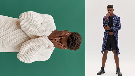 5.- Luis Carlos Leiva - Bryan Scate - H&M Studio 2018 - styling - direccion de arte PERU