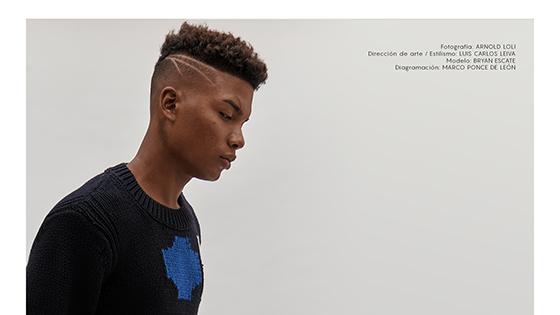 6.- Luis Carlos Leiva - Bryan Scate - H&M Studio 2018 - styling - direccion de arte PERU
