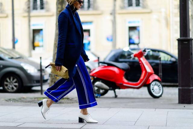 Y los pantalones ahora se llevan así...