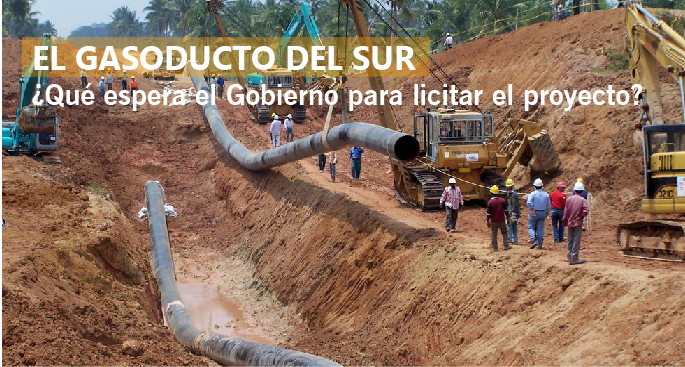 EL GASODUCTO DEL SUR ¿Qué espera el Gobierno para licitar el proyecto?