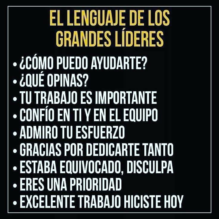 lideres lenguaje