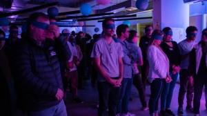 El evento cerró con una experiencia sensorial y una meditación.